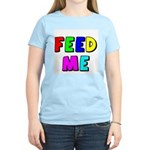 The Feed Me Women's Pink T-Shirt
