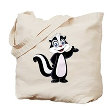 Cartoon Skunk Tote Bag