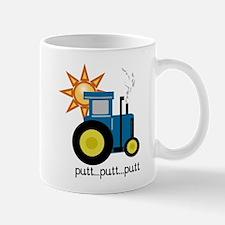Blue Putt Putt Tractor Mug