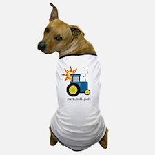 Blue Putt Putt Tractor Dog T-Shirt