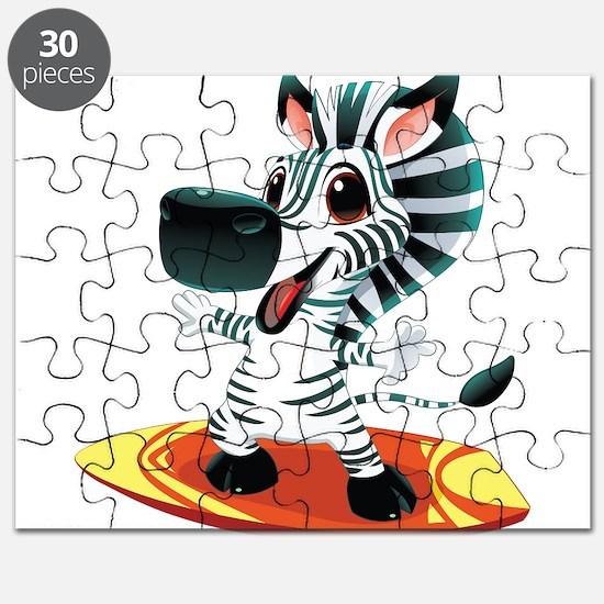 Surfing Zebra Puzzle