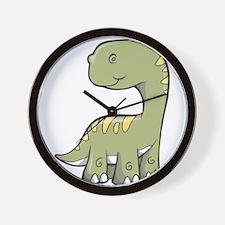 Cute Baby Dino Wall Clock