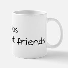 Jindos make friends Mug