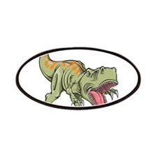 Screaming Dinosaur Patches