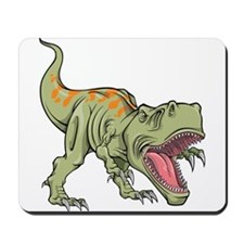 Screaming Dinosaur Mousepad