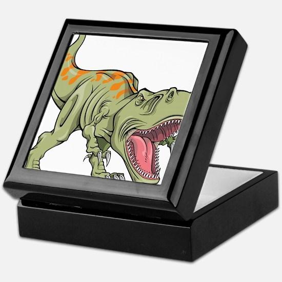 Screaming Dinosaur Keepsake Box