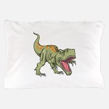 Screaming Dinosaur Pillow Case