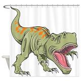 Dinosaur Shower Curtains