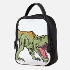 Screaming Dinosaur Neoprene Lunch Bag
