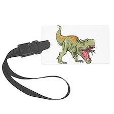 Screaming Dinosaur Luggage Tag