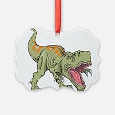Screaming Dinosaur Ornament
