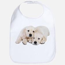 White Labradors Bib