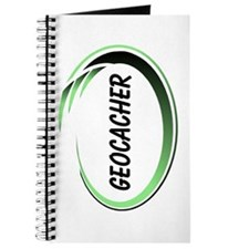 Green Geocacher Pizzaz Journal