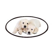 White Labradors Patches