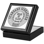 Standard Schnauzer University Keepsake Box