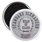 Standard Schnauzer University Magnet