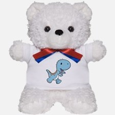 Running Baby Dino Teddy Bear