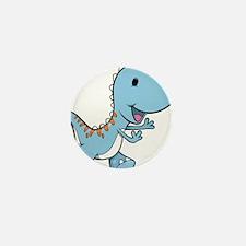 Running Baby Dino Mini Button (10 pack)