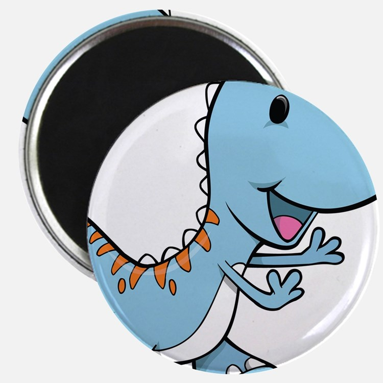 "Running Baby Dino 2.25"" Magnet (10 pack)"