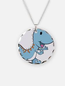 Running Baby Dino Necklace