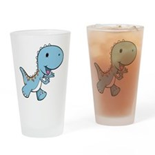 Running Baby Dino Drinking Glass