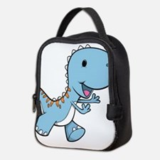 Running Baby Dino Neoprene Lunch Bag