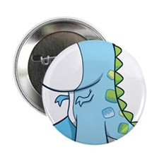"Baby Shower Dino 2.25"" Button (10 pack)"