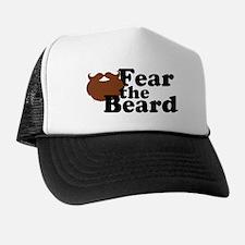 Fear the Beard - Brown Trucker Hat
