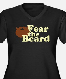 Fear the Beard - Brown Plus Size T-Shirt