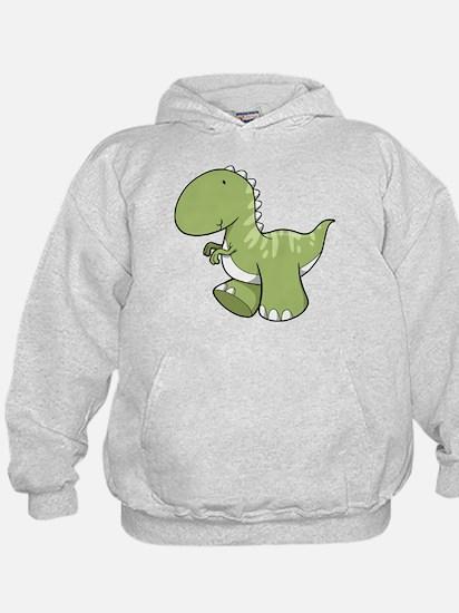 Green Baby Dinosaur Hoodie