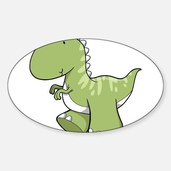 Green Baby Dinosaur Decal