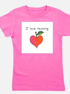 I love teaching. Girl's Tee