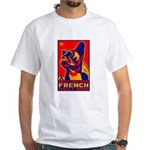 Obey the French Bulldog! White T-shirt