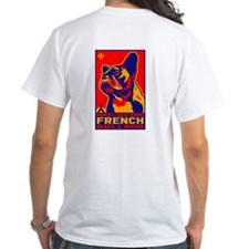 Obey the French Bulldog! 2-sided Shirt