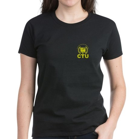 CTU-crest-blk T-Shirt