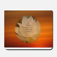 SGI Buddhist NMRK Mousepad