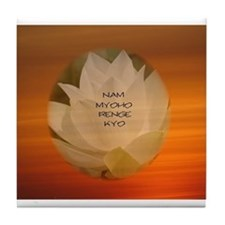SGI Buddhist NMRK Tile Coaster