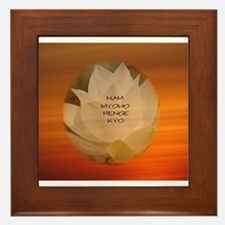 SGI Buddhist NMRK Framed Tile