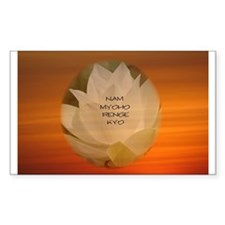 SGI Buddhist NMRK Decal