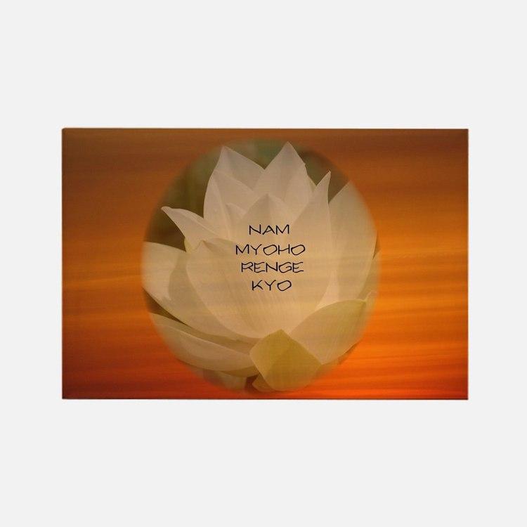 SGI Buddhist NMRK Rectangle Magnet