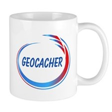 Blue Geocacher Pizzaz Mug
