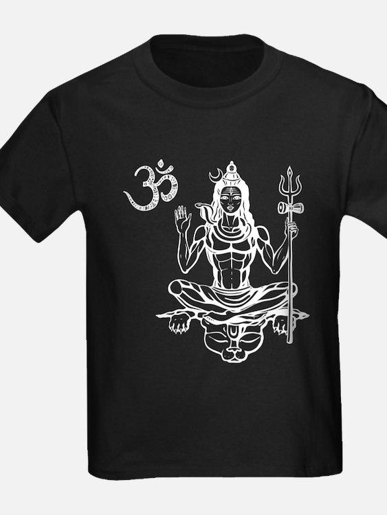 Om Shiva Hinduism God Good Spirit Meditati T-Shirt