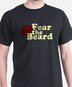 Fear the Beard - Red T-Shirt