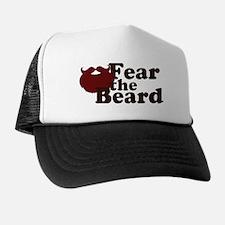 Fear the Beard - Red Trucker Hat