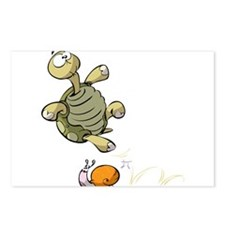 Jumping Turtle Postcards (Package of 8)