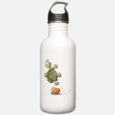 Jumping Turtle Water Bottle