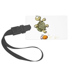 Jumping Turtle Luggage Tag