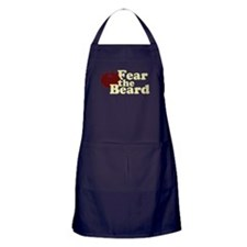Fear the Beard - Red Apron (dark)