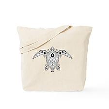 Art Turtle Tote Bag