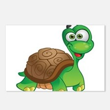 Funny Cartoon Turtle Postcards (Package of 8)